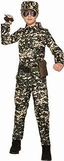 Army Jumpsuit Child Costume (Large)