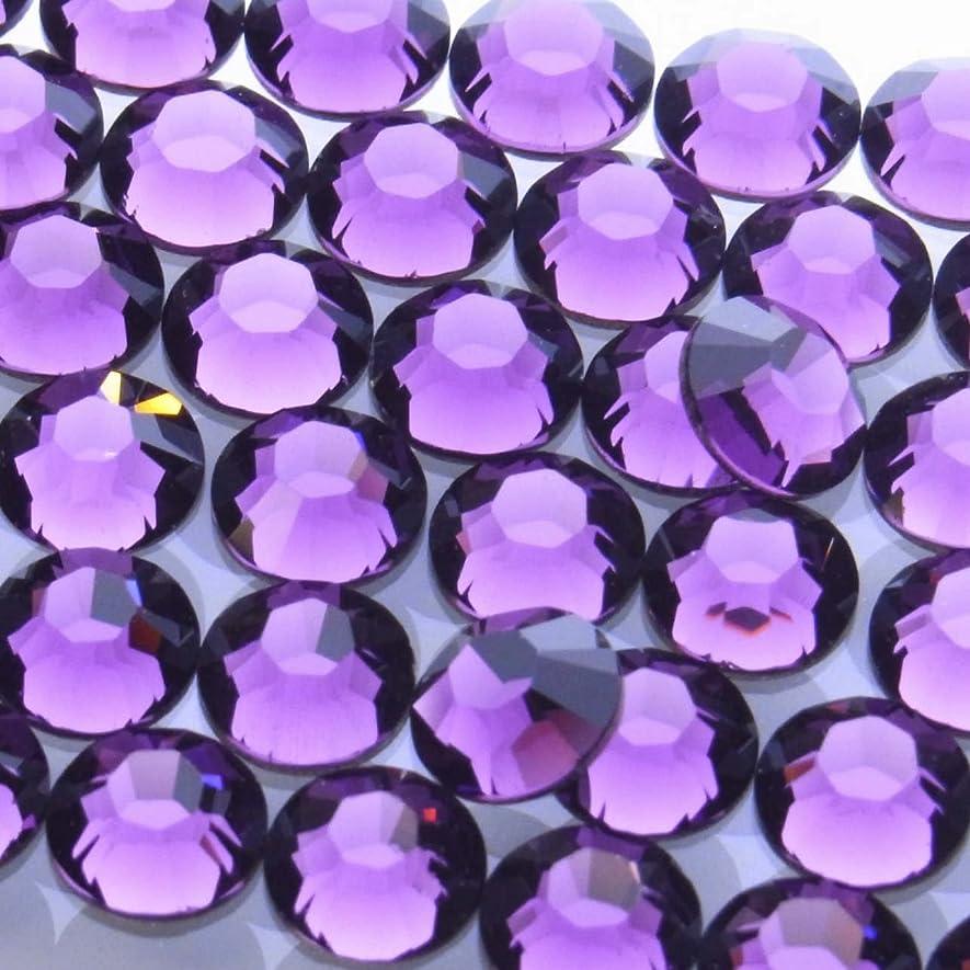 浅い乳製品妥協2058アメジストss34(144粒入り)スワロフスキーラインストーン(nohotfix)