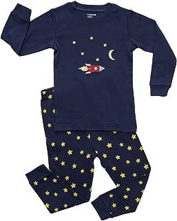 Leveret Kids & Toddler Pajamas Garbage Truck Train Boys 2 Piece Pjs Set 100% Cotton (Size 12 Months-14 Years)
