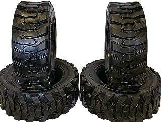 Set of Four (4) 12-16.5 Skid Steer Loader Tire, 14 PLY, NHS SKS 400