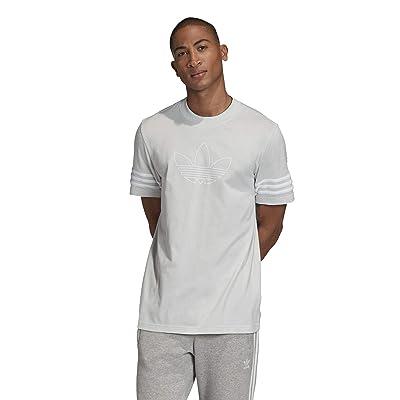 adidas Originals Outline Tee (Clear Grey) Men