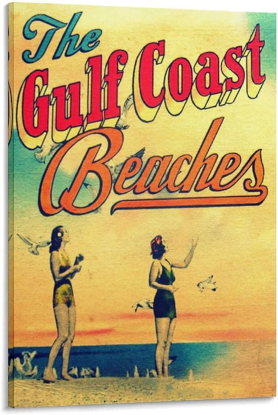 The Gulf 70% OFF Outlet Coa-st Beaches Canvas Fashion Art Modern Max 48% OFF Painting Wall
