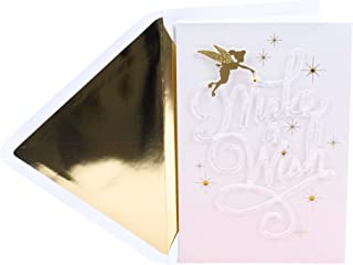 Hallmark Signature Birthday Card (Disney Tinkerbell)