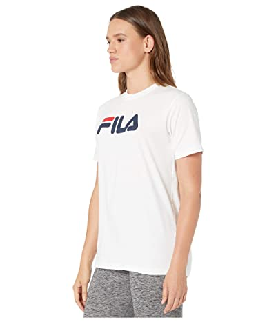 Fila Eagle Tee (Peacoat/White/Chinese Red) Women