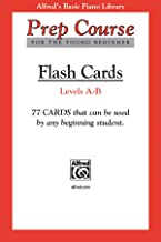 Alfred's Basic Piano Prep Course Flash Cards, Bk A & B: For the Young Beginner, Flash Cards (Alfred's Basic Piano Library)