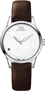 88 Rue du Rhone - Swiss reloj de cuarzo mujer 87 wa163203 marrón Pulsera