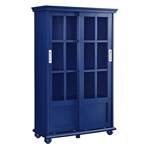 Living Room Cabinets with Doors and Shelves: Amazon com