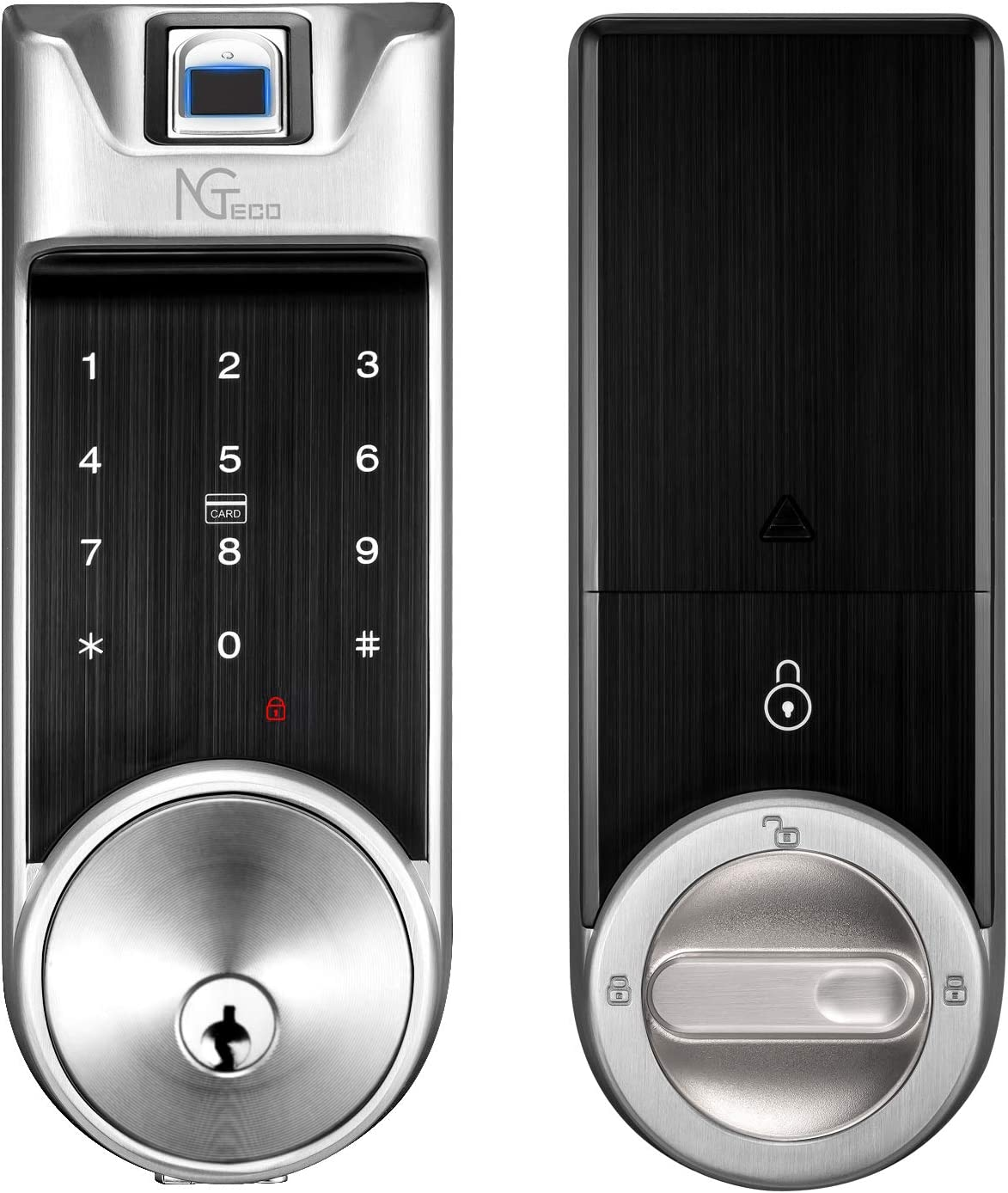 Popularity Smart Lock NGTeco Bluetooth Front Electronic Deadbolt for Max 87% OFF