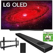 $3093 » LG OLED65CXPUA 65-inch CX 4K Smart OLED TV with AI ThinQ (2020) Bundle SN9YG 5.1.2 ch High Res Audio Sound Bar + TaskRabbit Installation Services + Vivitar Low Profile Flat TV Wall Mount