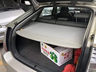 kaungka Cargo Cover Compatible for 2010-2016 Toyota Prius Base Retractable Trunk Shielding Shade Gray(Does Not Fit Prius V or C Models)