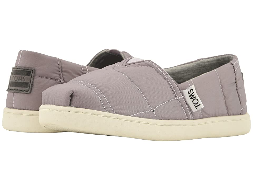 TOMS Kids Alpargata (Little Kid/Big Kid) (Lavender Quilted) Girl