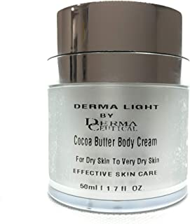 Cocoa Butter Body Cream - 48 Hour Moisture For Dry Skin To Very Dry Skin