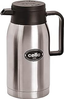 Cello Livia Stainless Steel Flask 750 ML (26-OZ) Silver