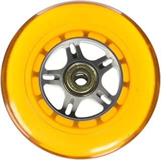 Curb Dog Scooter Wheels Orange 100mm with Sealed Cartridge Bearings