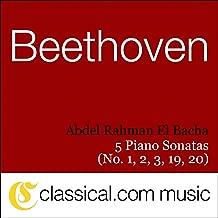 Ludwig van Beethoven, Piano Sonata No. 1 In F Minor, Op. 2 No. 1