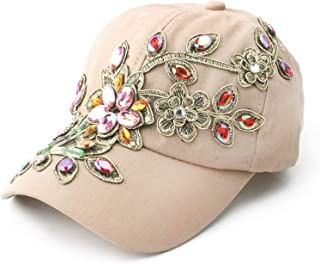 ladies caps with bling