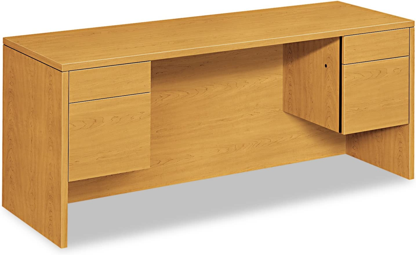 HON10543CC - Max 76% Outlet SALE OFF 10500 Series Kneespace With Credenza 3 Ped 4-Height