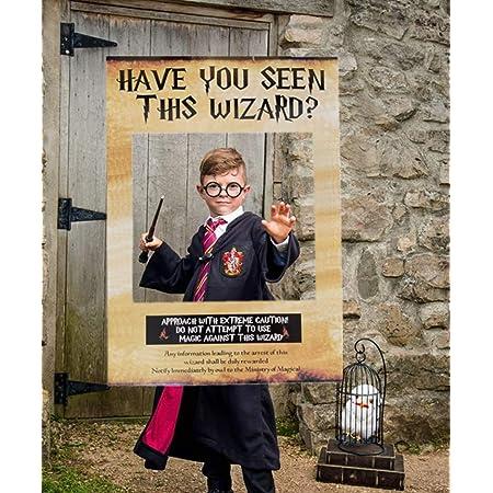JeVenis Hai visto questo assistente Photo Booth Prop Wizard Wizard Photo Booth Frame Festa di compleanno Photo Booth Props