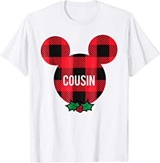 Mickey Mouse COUSIN Holiday Family T-Shirt