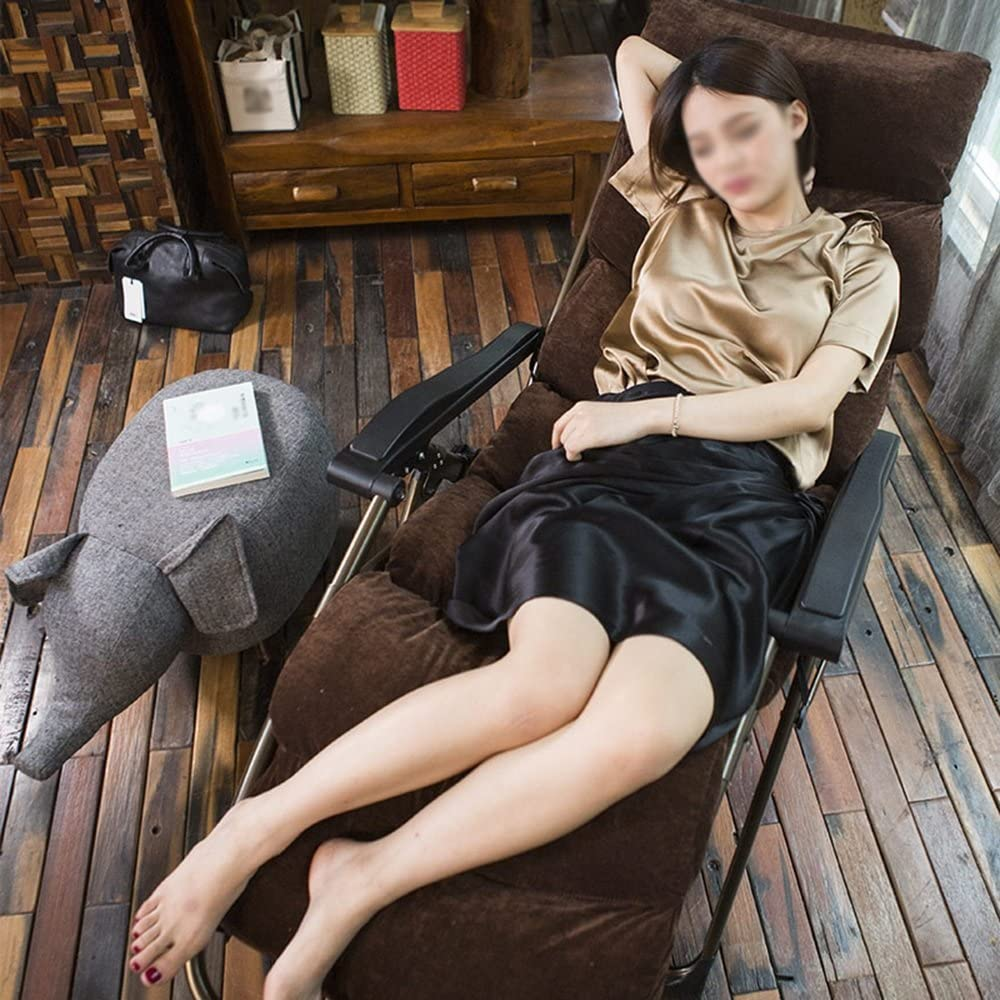 LYQQQQ Chaise Pliante Fauteuil inclinable inclinable pour la Pause de midi, Bureau d'été, Fauteuil de Maison, Fauteuil de Plage, Chaise Facile (Color : B) Q