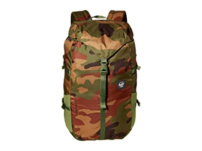 Herschel Supply Co. Barlow Large (Woodland Camo) Backpack Bags