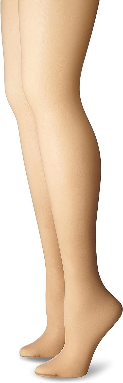 Just My Size Women's Smooth Finish Regular Sheer Toe Panty Hose