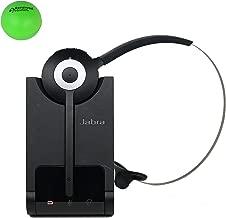 Jabra Pro 920 Wireless Headset for Desk Phone Bundle with Renewed Headsets Stress Ball (Renewed)