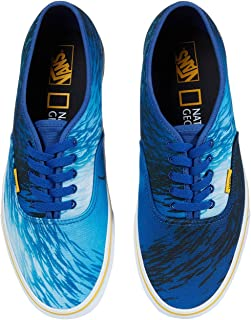 [VANS(バンズ)] メンズスニーカー・靴 Vans x National Geographic Collab Shoes (National Geographic) Ocean/True Blue (Authentic) Men's 4, ...