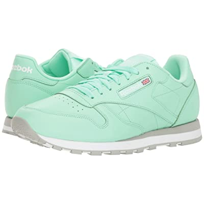 Reebok Lifestyle Classic Leather MU (Digital Green/White/Grey) Men