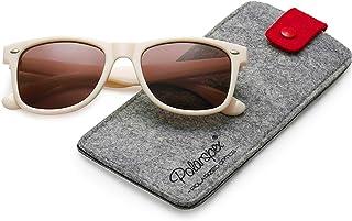 78a832a5f6 Polarspex Polarized 80 s Retro Classic Trendy Stylish Sunglasses for Men  Women