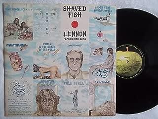 JOHN LENNON / PLASTIC ONO BAND Shaved Fish vinyl LP