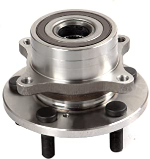 ECCPP Replacement for Wheel Bearing Hub 513267 Hub Bearing Assembly Hub Assemblies Front Axle 5 Lugs for Acura MDX Base Model V6 3.7L 3664CC J37A1 Honda Pilot EX