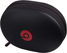 Matte Zipper Earphones Carrying Case for Beats Monster by Dr.Dre Studio, Solo Wireless, Solo, Solo HD Over-Ear Over-Head Headphones Replacement Case Pouch Bag Box