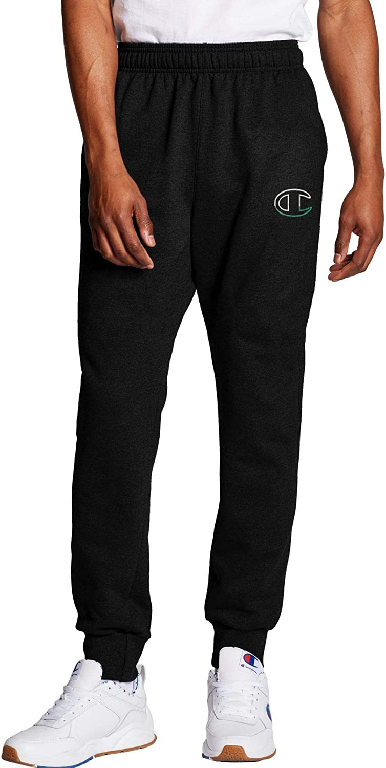 Champion Discount mail order Men's Powerblend Graphic famous Pant Jogger