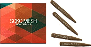Soko Mesh 2 Pair Collar Stays - Stiffener