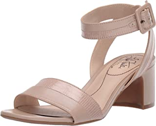 LifeStride Women's Carnival Heeled Sandal, Taupe, 6 M US