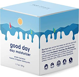 La Fresh Eco-Beauty Moisturizing DayCream – Natural Face and Neck Moisturizer to Hydrate, Freshen and Revitalize Skin (1.7 oz Container)