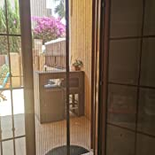 80x215cm 31x85inch Blanco THAIKER Mosquitera Magn/éTica Mosquiteras Correderas Magn/ética Autom/ático Mantiene los Mosquitos de Insectos Fuera para Balcones