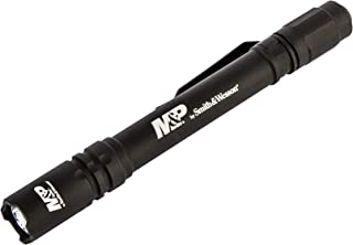 Smith & Wesson M&P Delta Force CS 2xAAA 175 Lumen Flashlight with 4 Modes,  Waterproof Construction and Memory Retention
