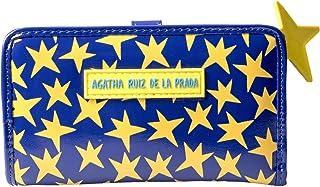 Agatha Ruiz de la Prada Billetero Mediano Estampado con Estrellas
