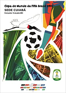 A-ONE POSTERS Brazil 2014 FIFA World Cup Poster 12