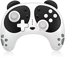 Wireless Controller for Nintendo Switch, STOGA Panda Cute Switch Pro Controller Compatible with Switch Lite/PC with NFC Wa...
