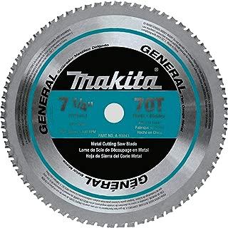 Makita A-93843 7-1/4-Inch 70-Teeth Carbide Metal Cutting Blade