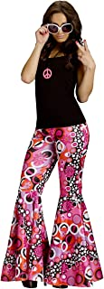 Flower Power Bell Bottoms Costume for Adults