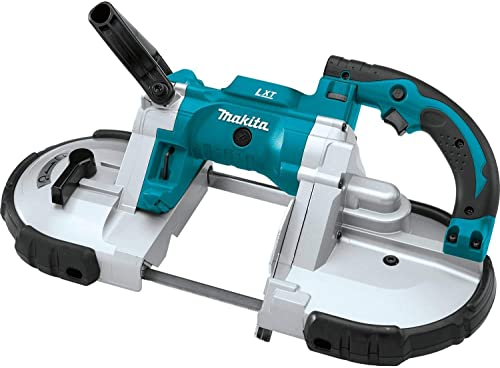 discount Makita new arrival XBP02Z 18V LXT Lithium-Ion new arrival Cordless Portable Band Saw, Tool Only sale