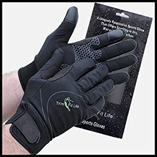 Trim Fit Life Ultimate Windproof Neoprene Sports Glove for All Outdoor Activities...