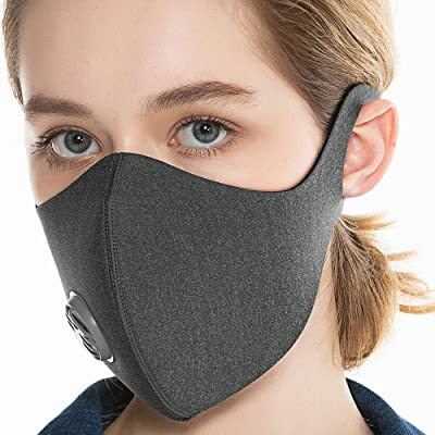 BASE CAMP Reusable Dust/Pollution Mask with Act...