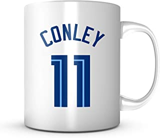 Mike Conley #11 Mug Memphis Basketball - Jersey Number Coffee Cup