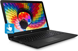 "Newest HP High Performance 15.6"" HD Touch-Screen Notebook Computer with Intel Pentium N5000 Processor, 4GB_RAM, 1TB Hard Drive, Webcam, WiFi and Bluetooth, HDMI, Windows 10 (Black) (Renewed)"
