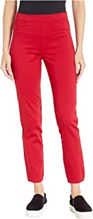 D-Lux Denim Pull-On Ankle in Red Red 8